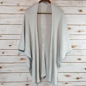 Chico's   Silver Sweater Shawl